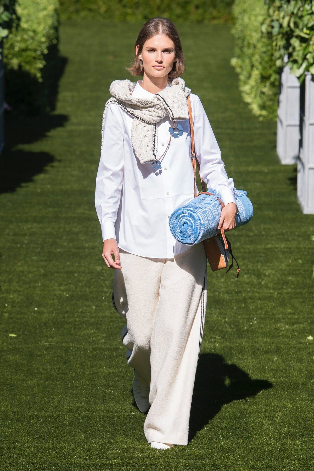 Tory Burch Spring 2018 | Source: Indigital