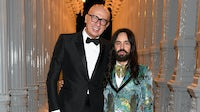 Gucci chief executive Marco Bizzarri with Gucci creative director Alessandro Michele | Source: Getty Images