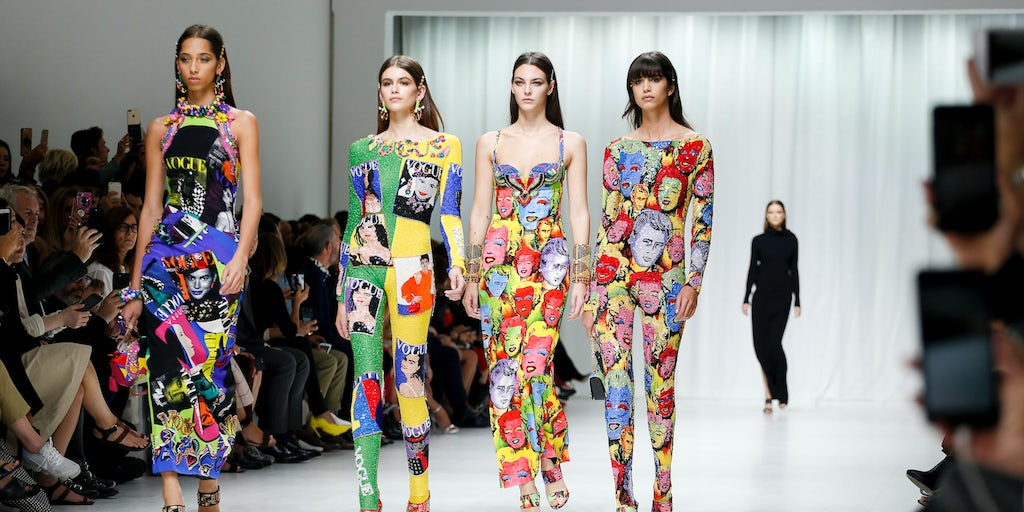 From versace to helmut lang the rise of re issues - Best runway shows ...