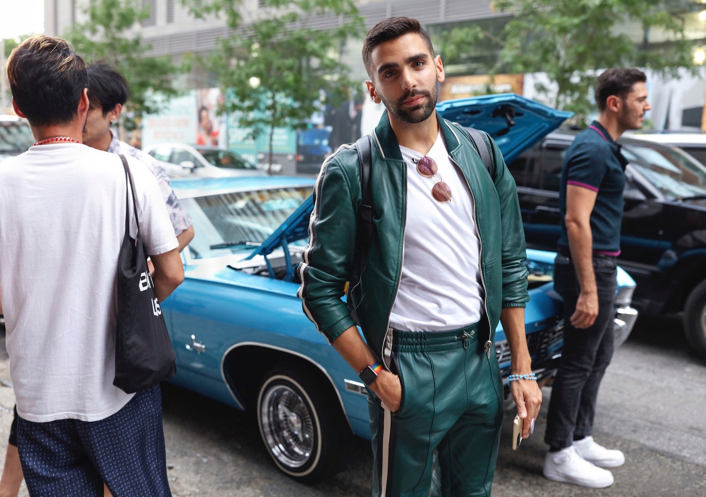 Street Style: New York Spring 2018 Menswear Shows