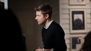Christopher Bailey at Burberry's February 2017 show | Source: Courtesy
