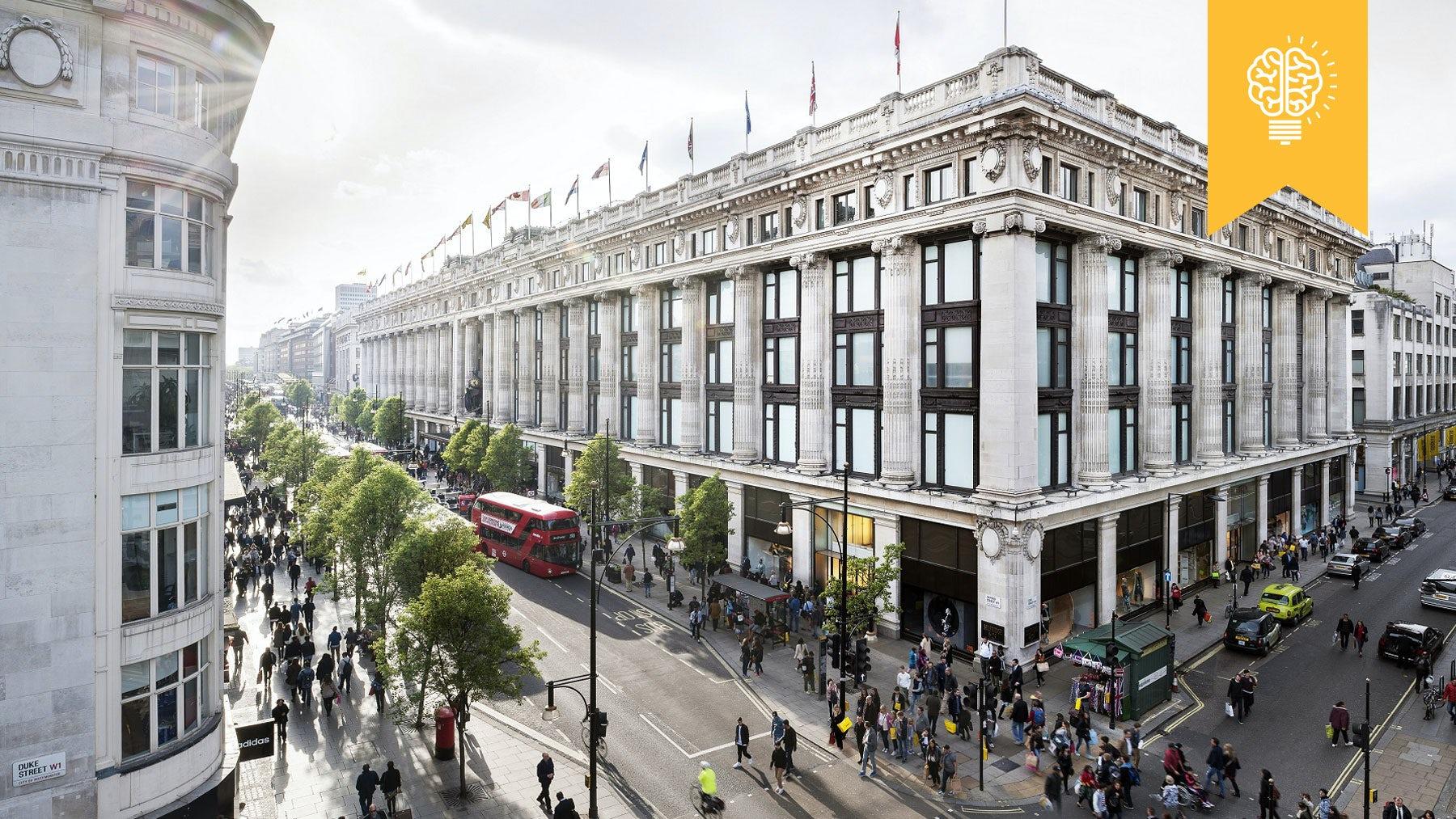 Selfridges flagship in London | Source: Courtesy