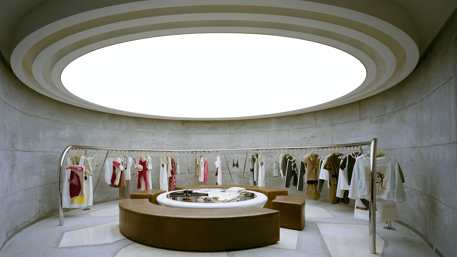 The Marni store in Tokyo, designed by Sybarite Architects   Source: Courtesy