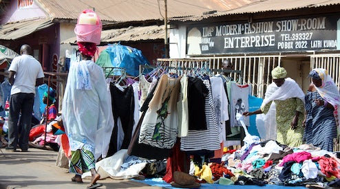 Africa vs the USA: A Secondhand Clothing Showdown | Global