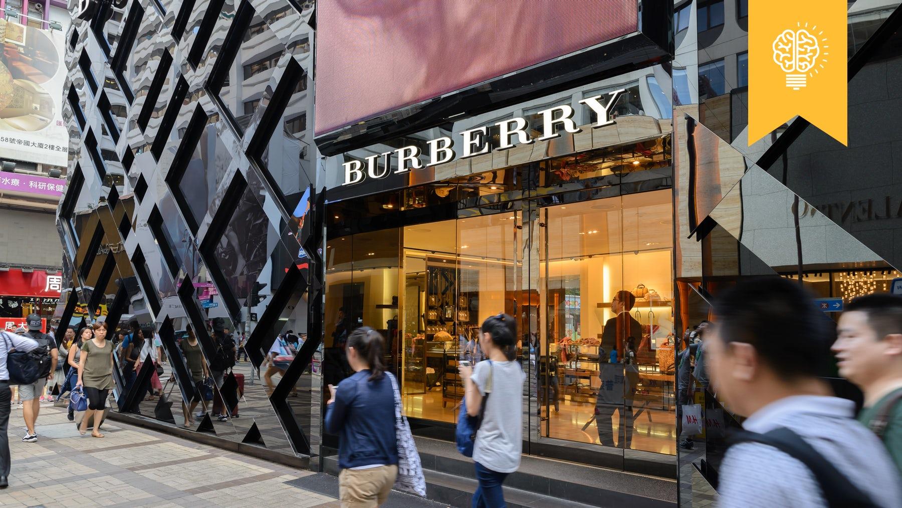 Burberry store in Hong Kong | Source: Shutterstock