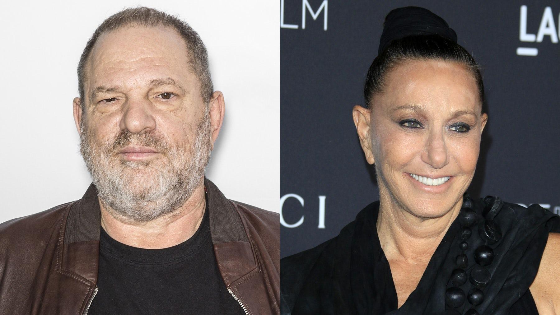 Harvey Weinstein and Donna Karan   Source: Shutterstock