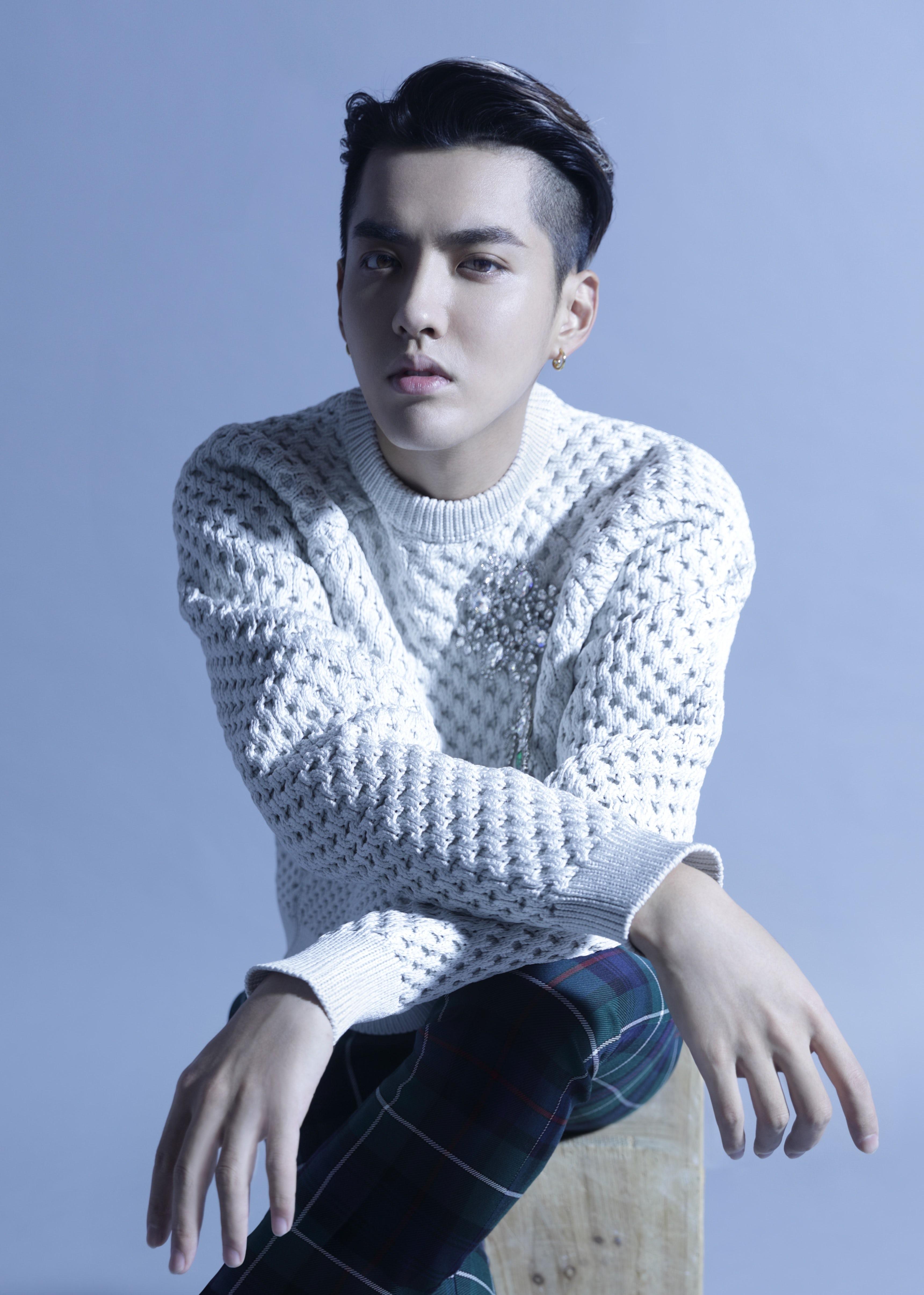 Kris Wu photographed by Chen Man for BoF (stylist: Lucia Liu, makeup artist: Ki, hair stylist: Hong Junsung)