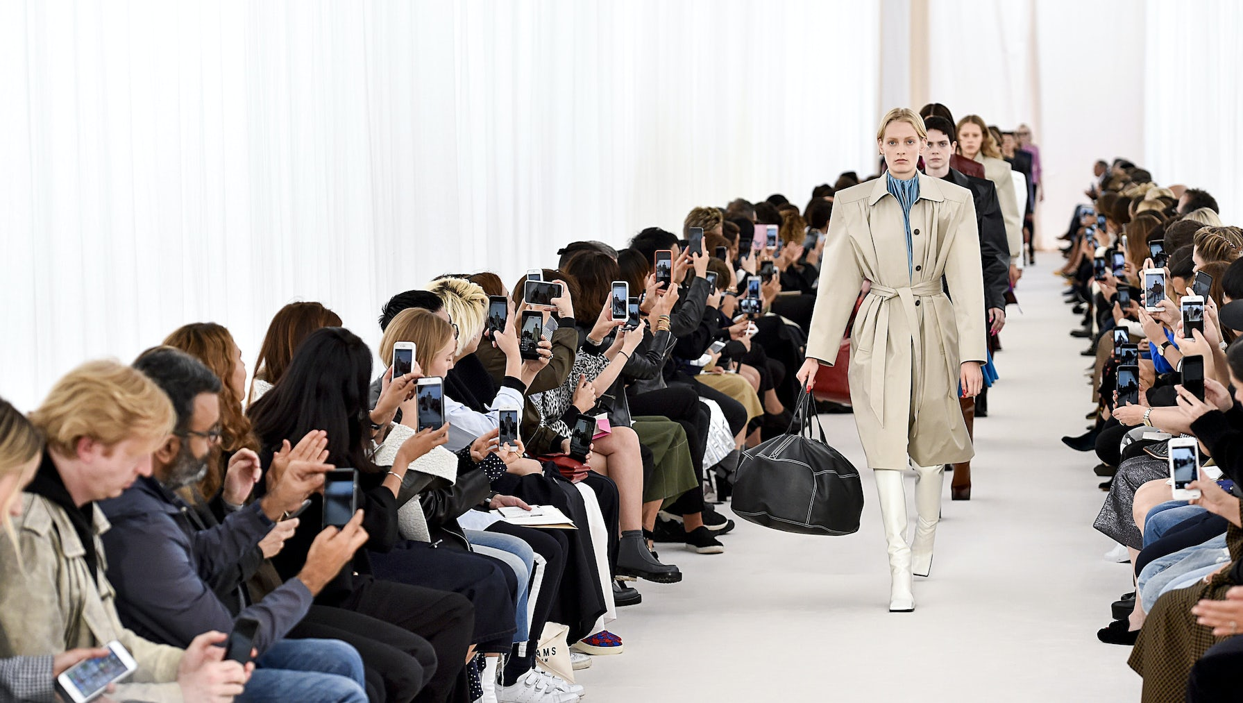 Balenciaga show during Paris Fashion Week | Source: Shutterstock