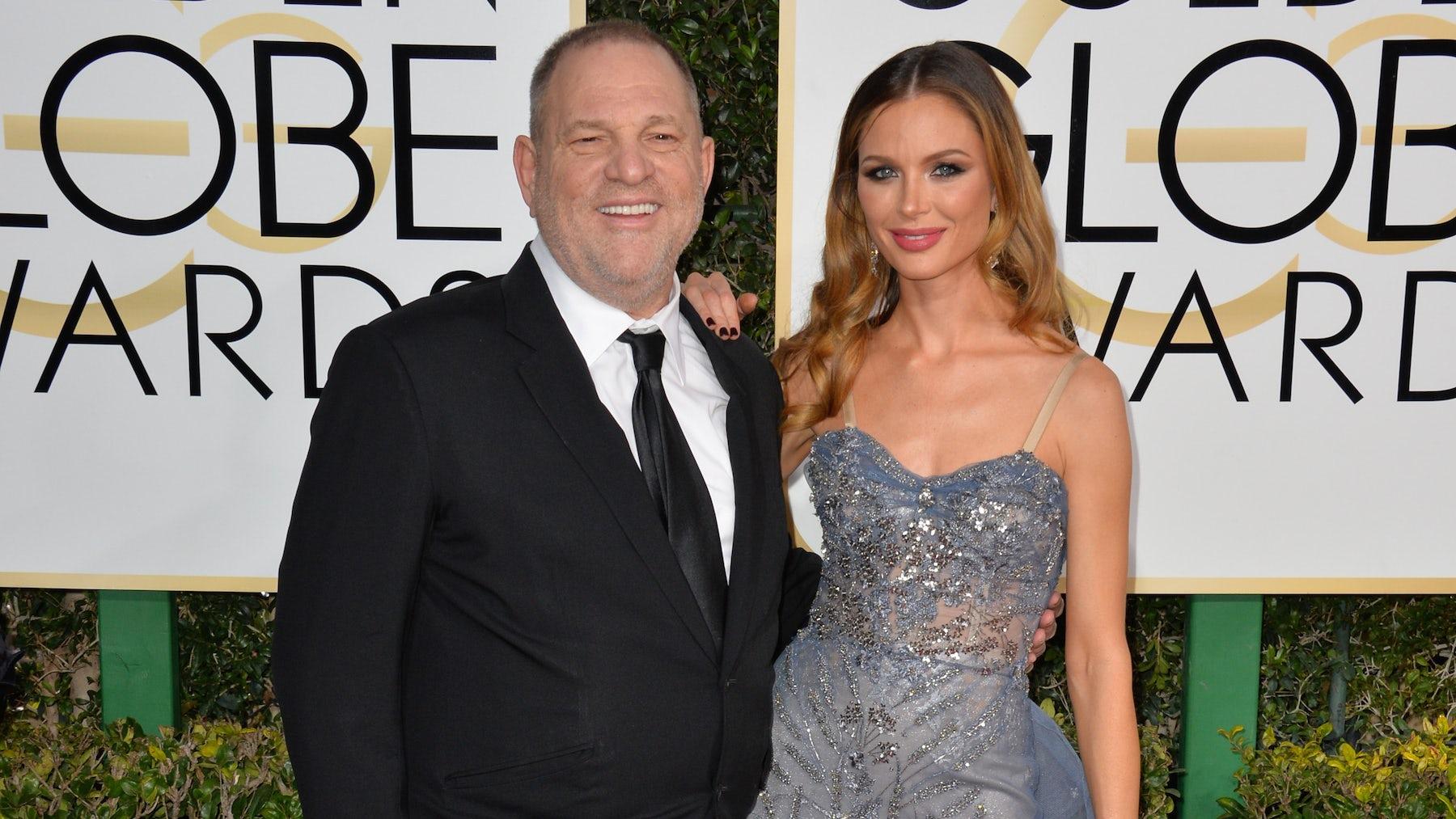 Harvey Weinstein And Georgina Chapman Source Shutterstock