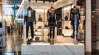Alexander Wang's monochrome display in Bangkok | Source: Shutterstock