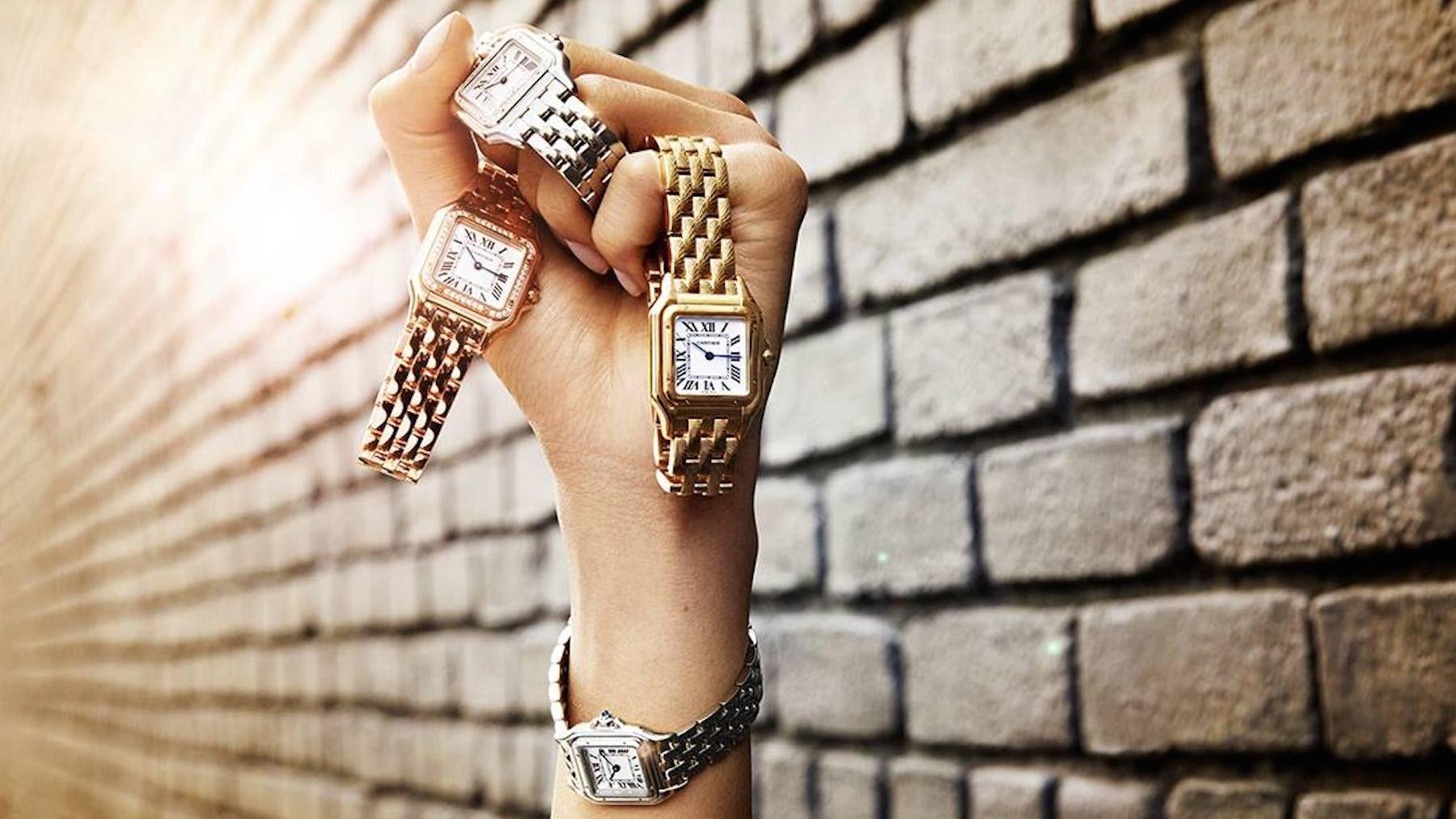 Panthère de Cartier watches | Source: Cartier