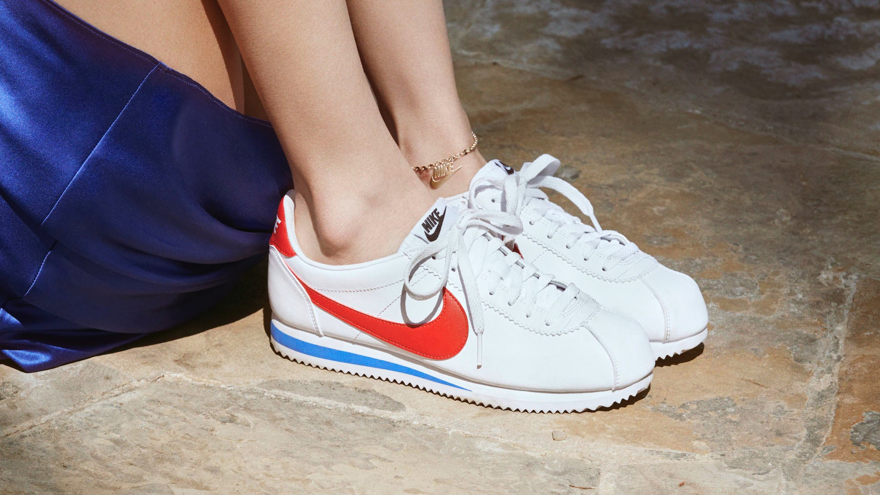 Nike Cortez sneakers   Source: Courtesy