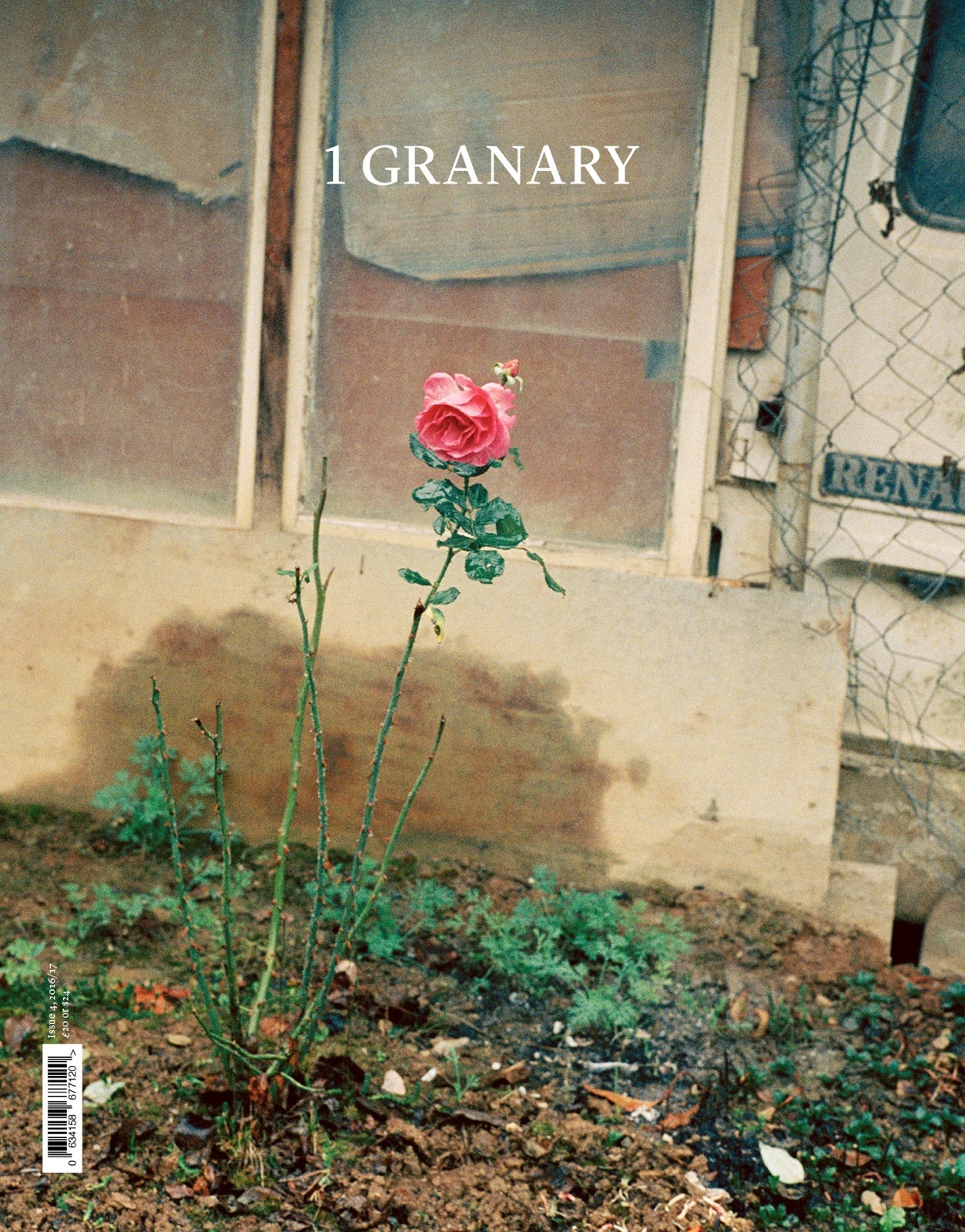 The fifth issue of 1 Granary, out on 1 December 2017 | Cover photography: Chris Rhodes