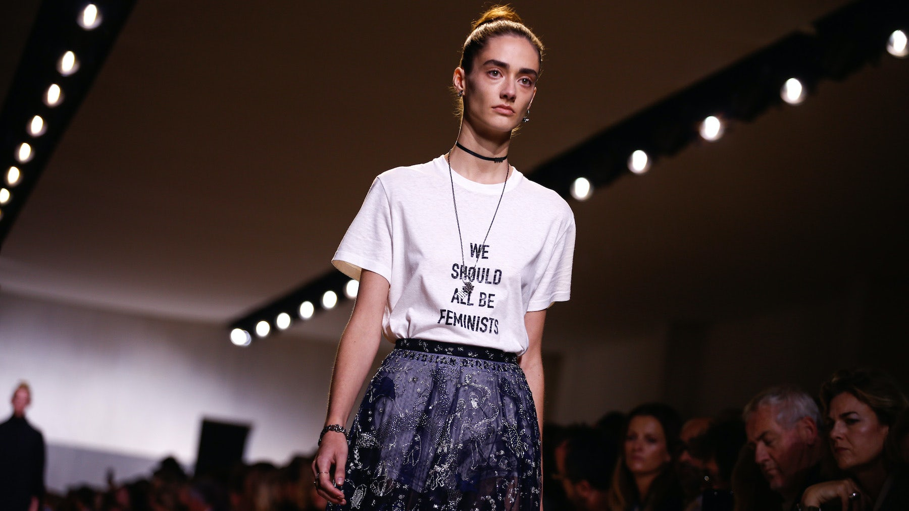 Maria Grazia Chiuri's first Dior collection debuted for Spring/Summer 2017 | Source: InDigital