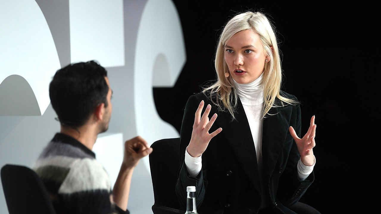 Karlie Kloss at VOICES 2017 | Source: Getty