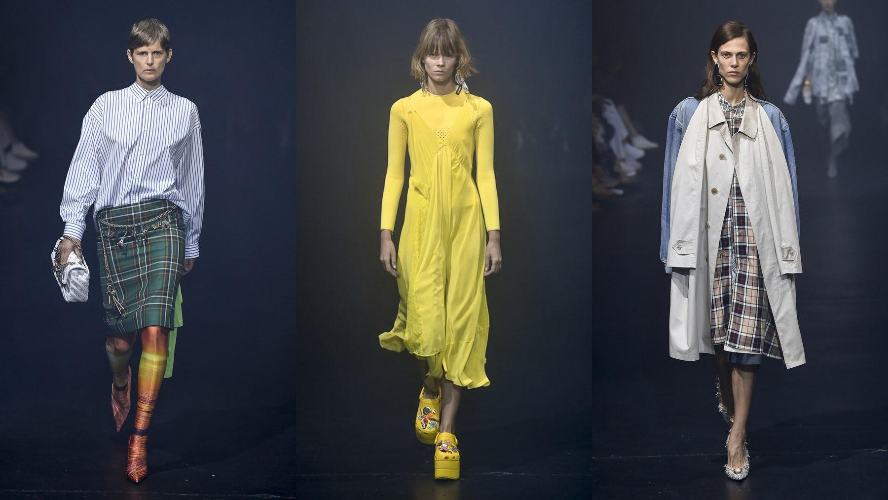 Balenciaga Unifies Men's and Women's Collections
