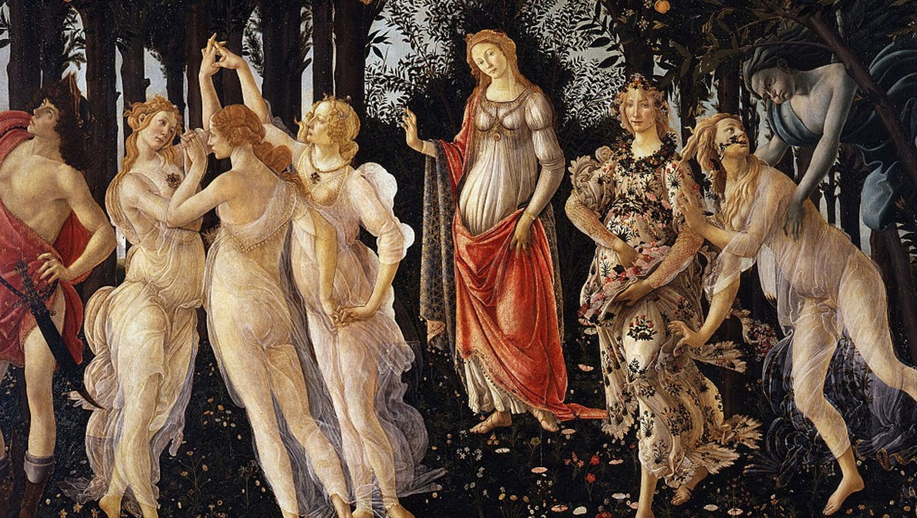 Primavera, or Allegory of Spring (1482) | Source: Alamy