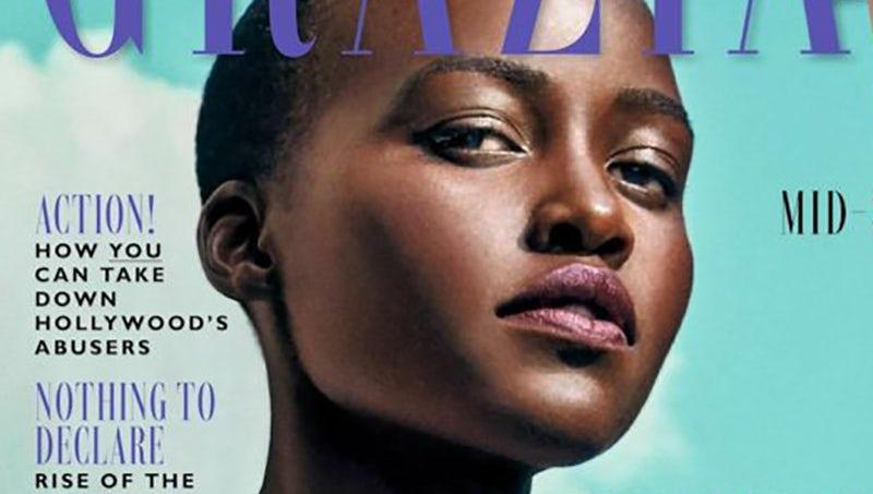 Lupita Nyong'o in the November issue of Grazia   Source: Grazia