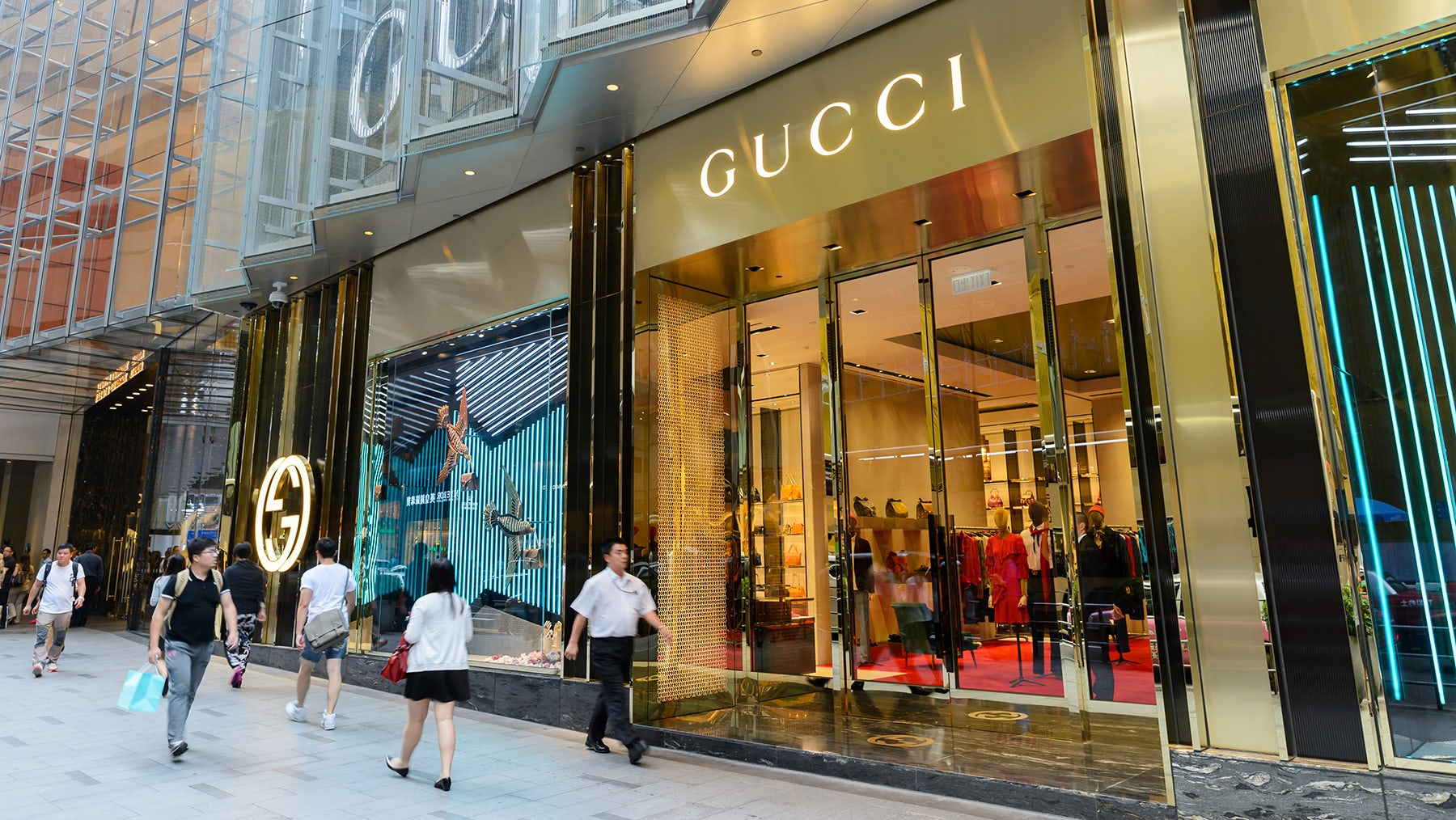 A Gucci store in China | Source: Shutterstock
