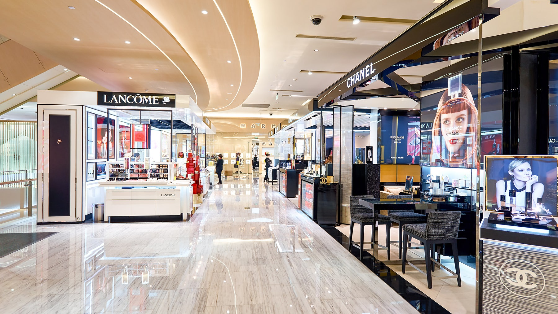 Inside MixC, the largest shopping mall in Shenzhen, China   Source: Shutterstock