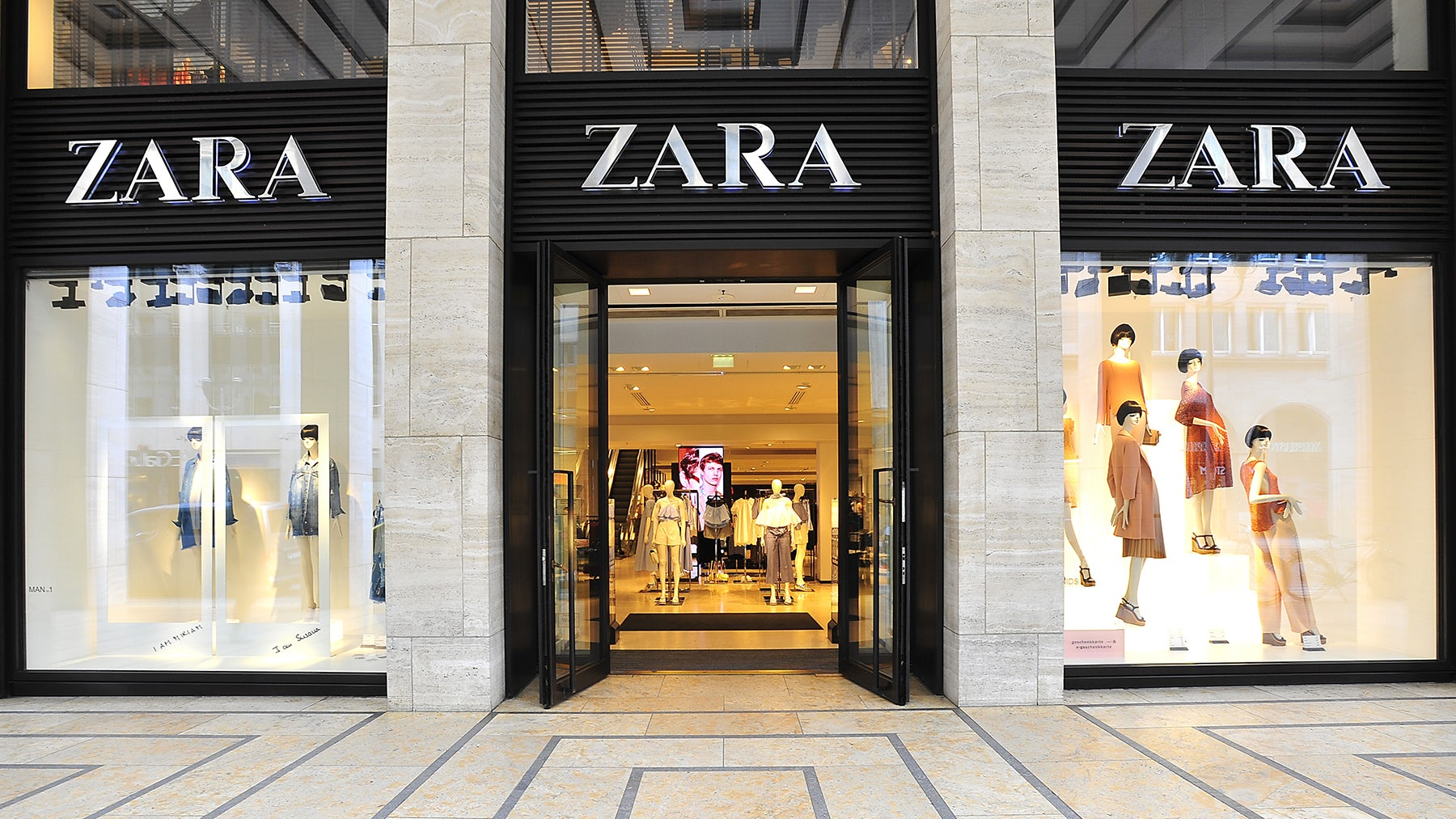 Article cover of Zara to Lure Millennials with Augmented Reality Displays