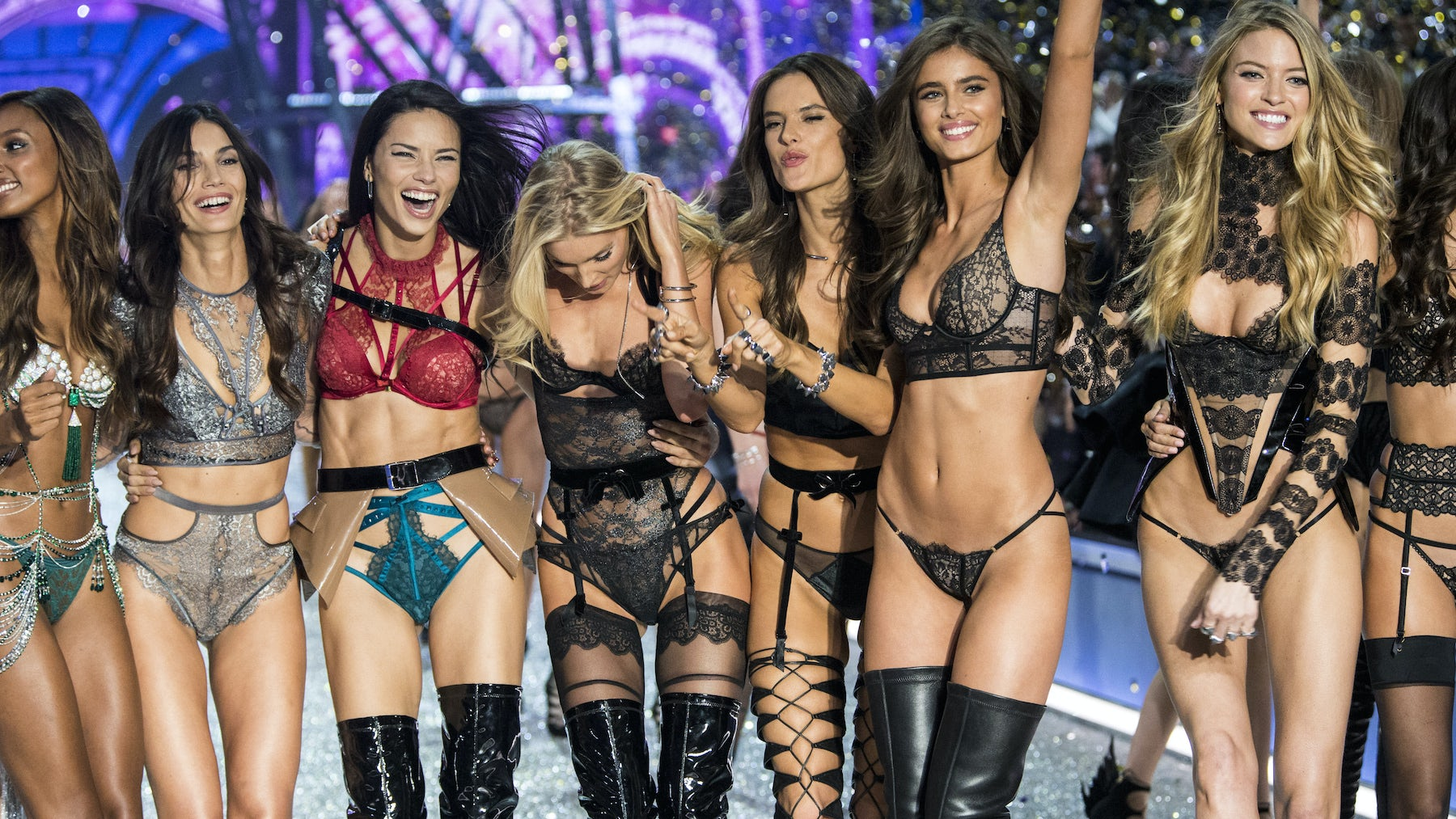 Article cover of Victoria's Secret Fashion Show Struts on Despite Controversy