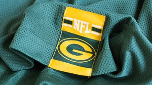 NFL emblem on a jersey | Source: Shutterstock