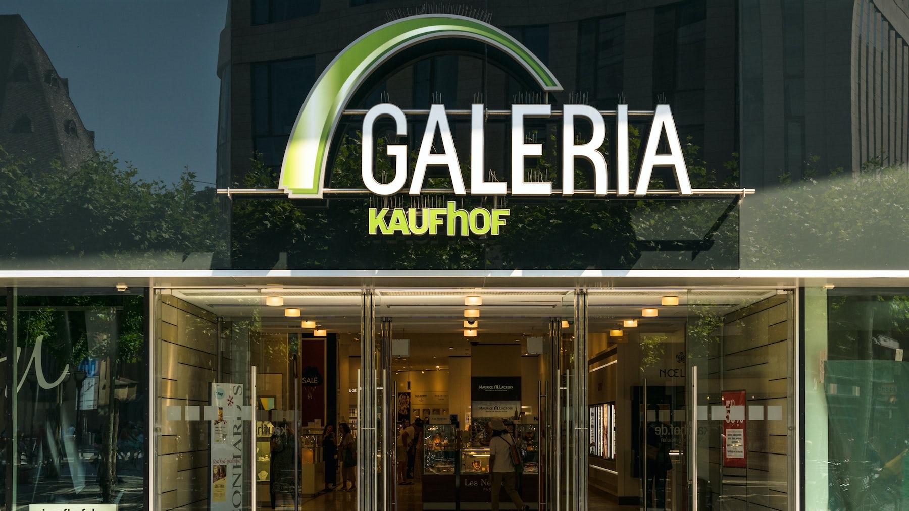 Galeria Kaufhof | Source: Shutterstock