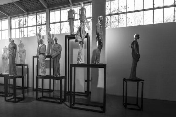 "Rick Owens' Retrospective Exhibition ""Subhuman Inhuman Superhuman"""