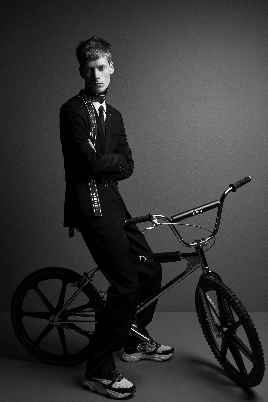 Dior Homme x Bogarde   Photo: Patrick Demarchelier