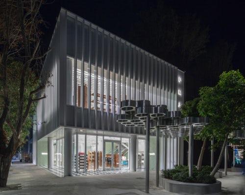 Prada store at the Miami Design District