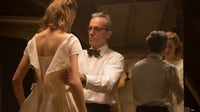 Vicky Krieps and Daniel Day-Lewis in Phantom Thread | Source: Photo by Laurie Sparham at Focus Features