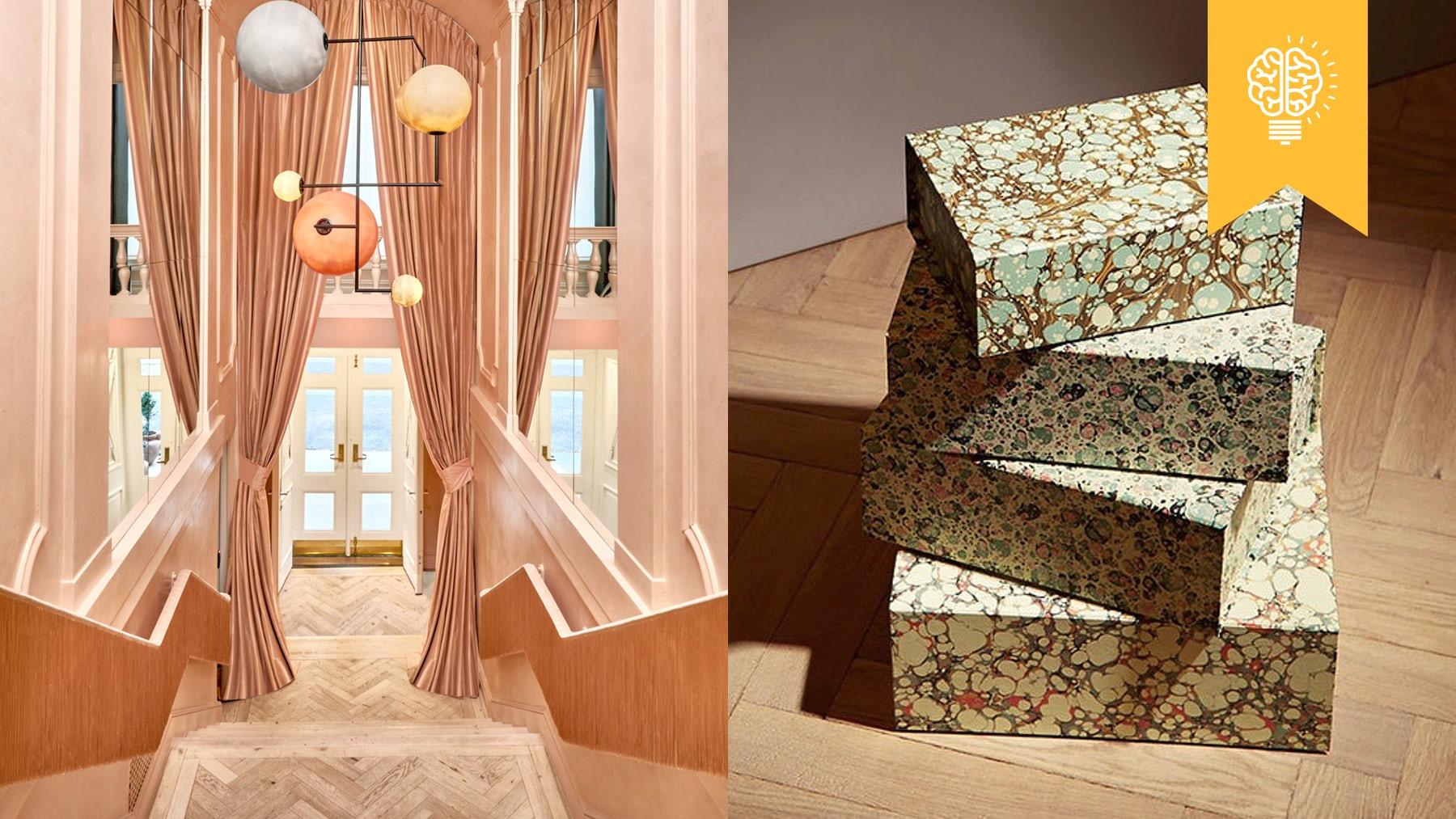 Moda Operandi's New York showroom, Matches Fashion's e-commerce packaging | Source: Courtesy