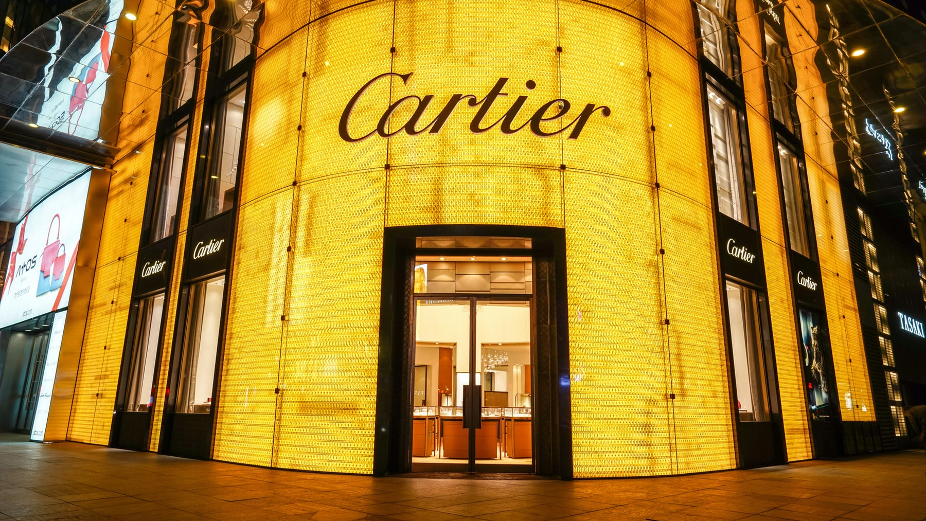 Cartier store in Shanghai, China | Source: Courtesy