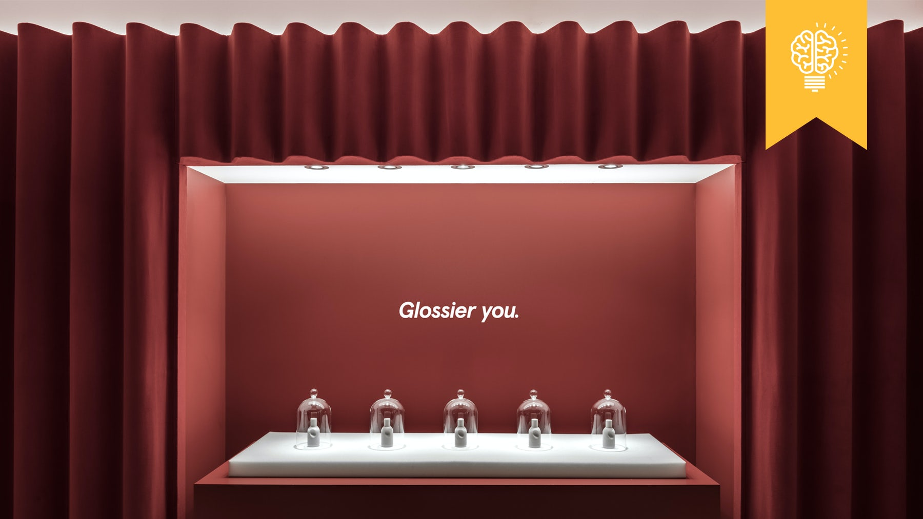 The Glossier You pop-up | Source: Courtesy