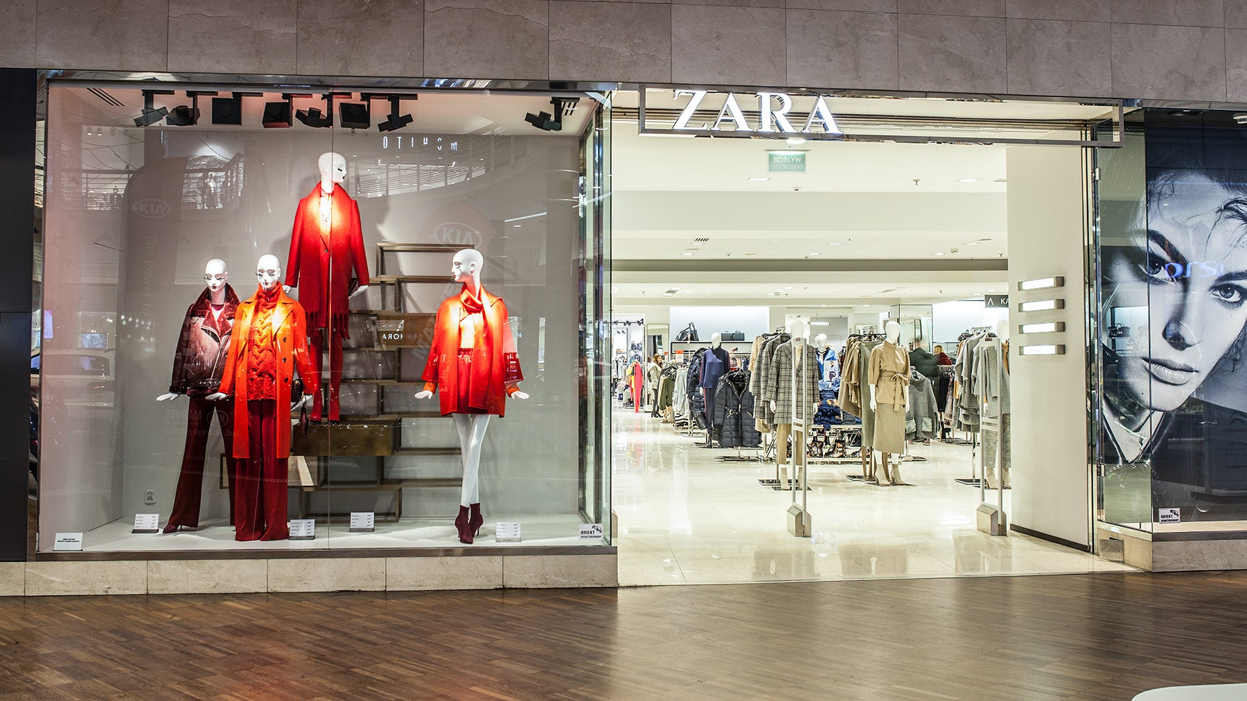 Zara store at the Manufaktura mall in Lodz, Poland | Source: Shutterstock