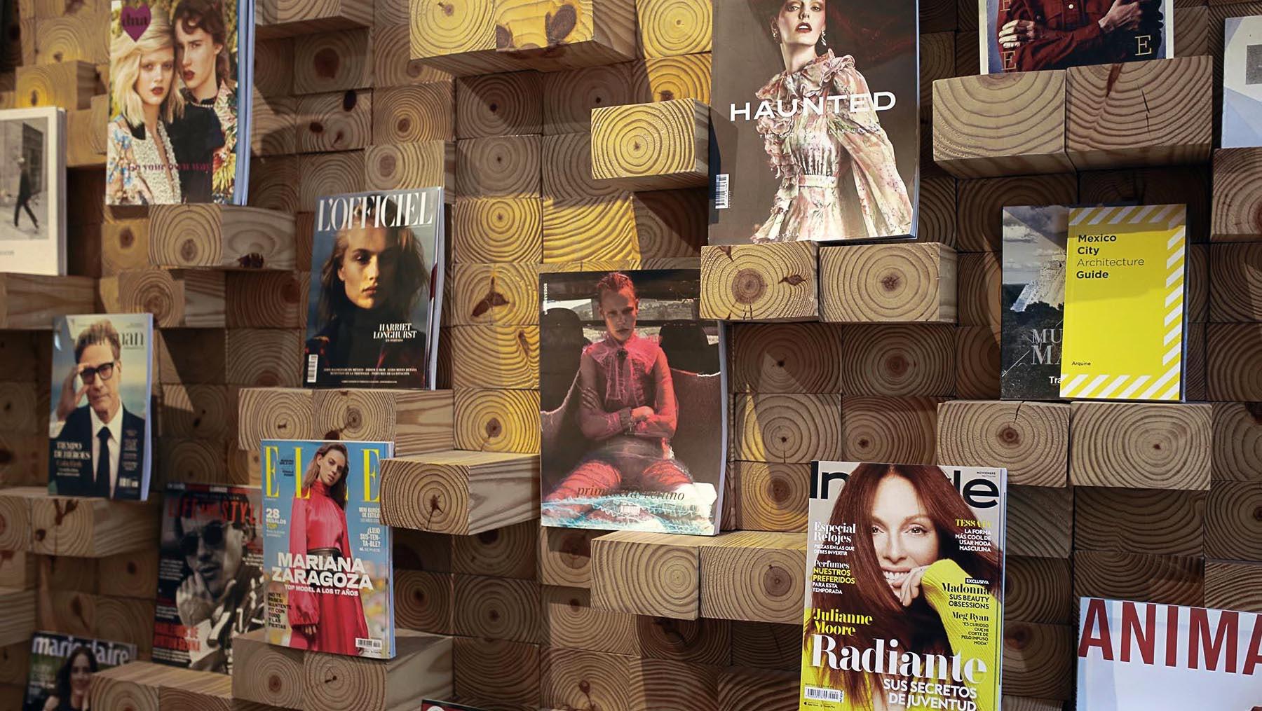 Casa Bosques Bookshop in Mexico City   Photo: Izack Morales
