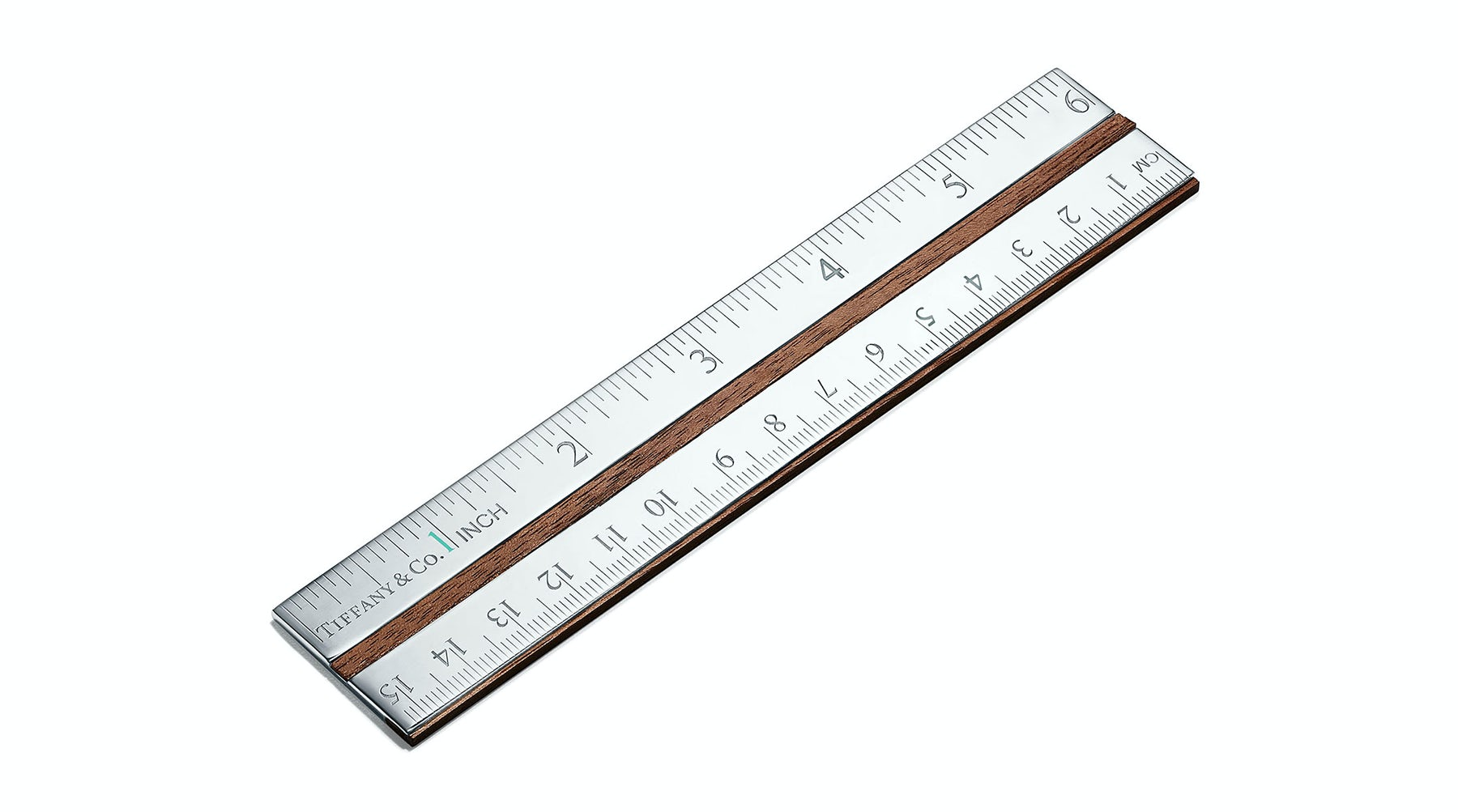 Tiffany & Co's ruler | Source: Courtesy