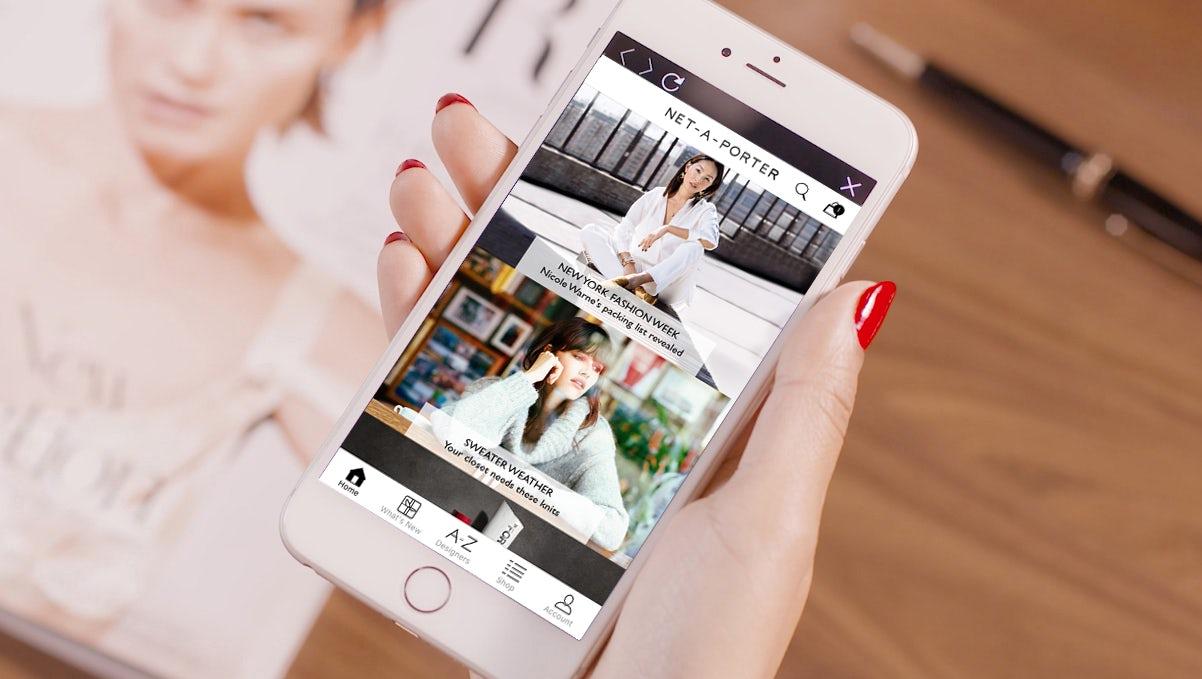 Mobile Drove Yoox Net-a-Porter's Record 2017