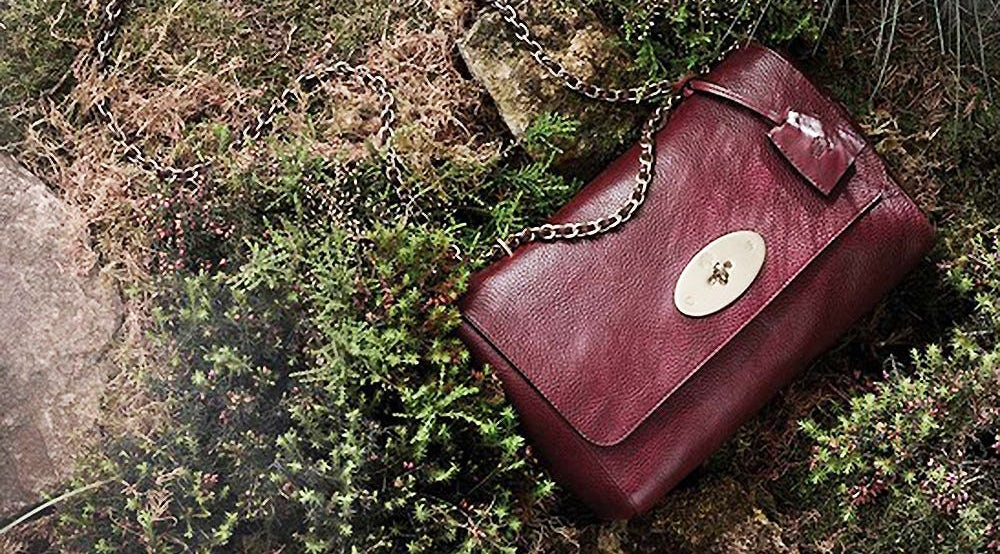 Mulberry 'Lily' in oxblood | Source: Mulberry