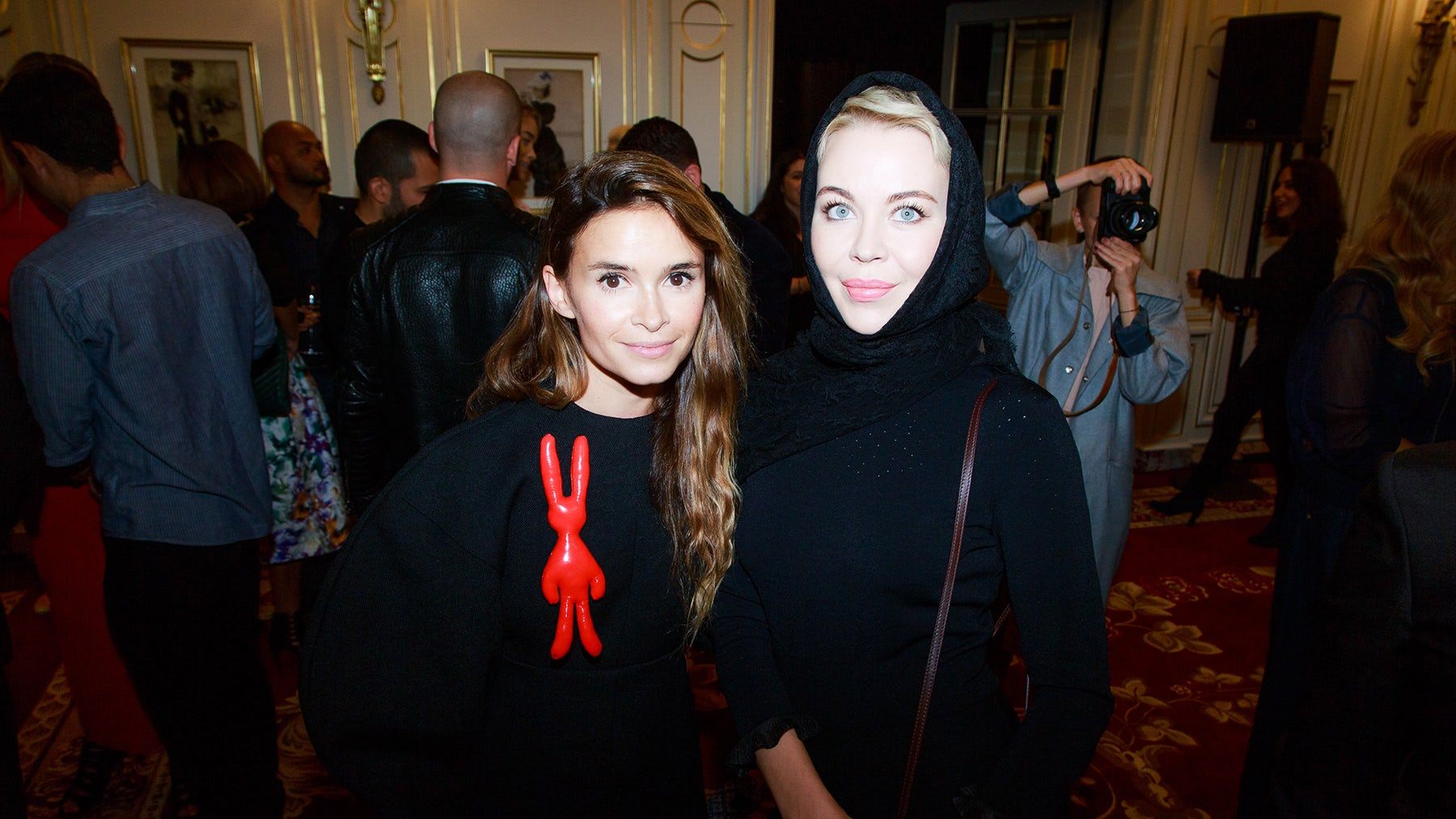 Miroslava Duma and Ulyana Sergeenko | Source: Getty