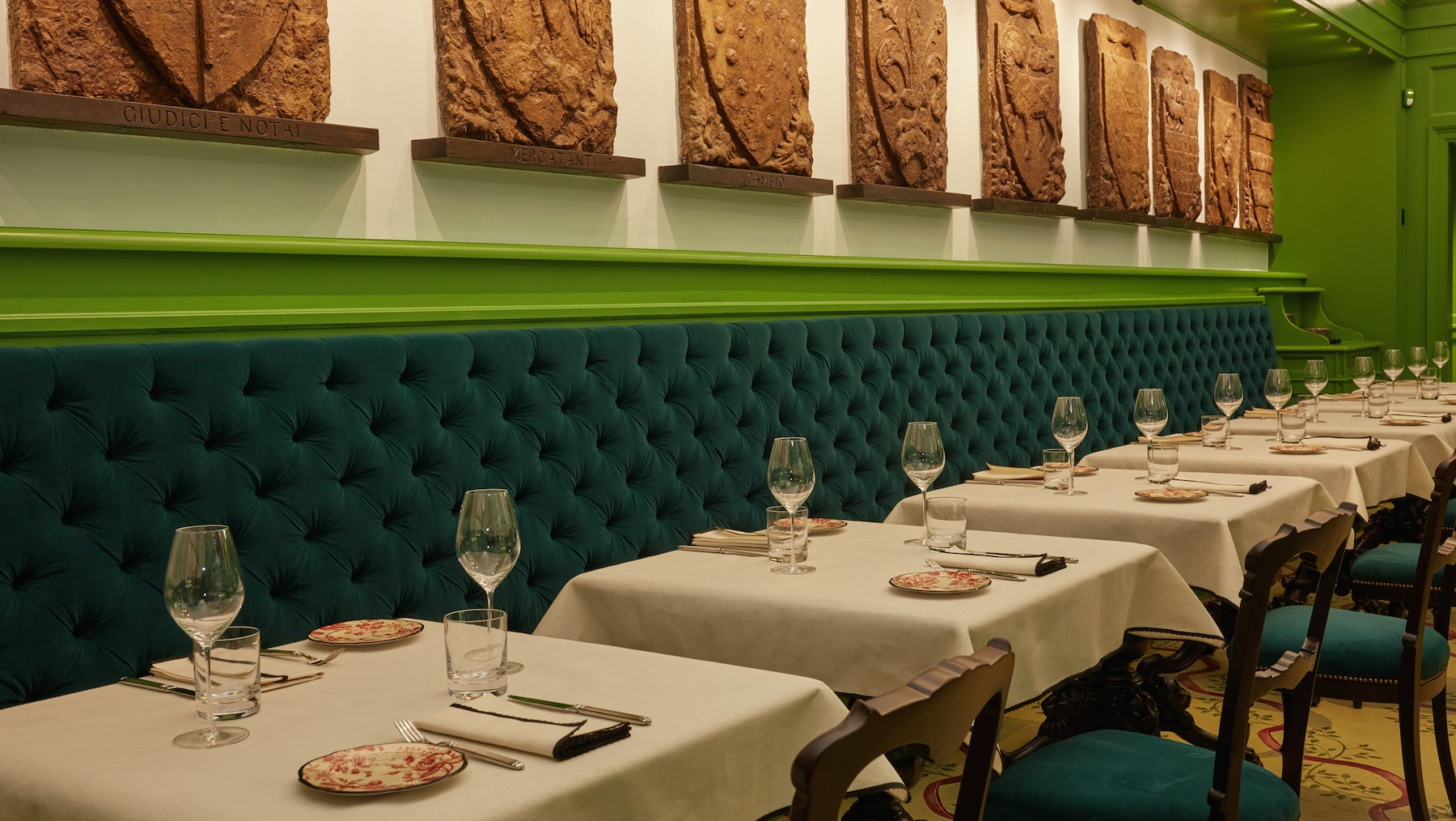 Gucci Opens Fine Dining Restaurant