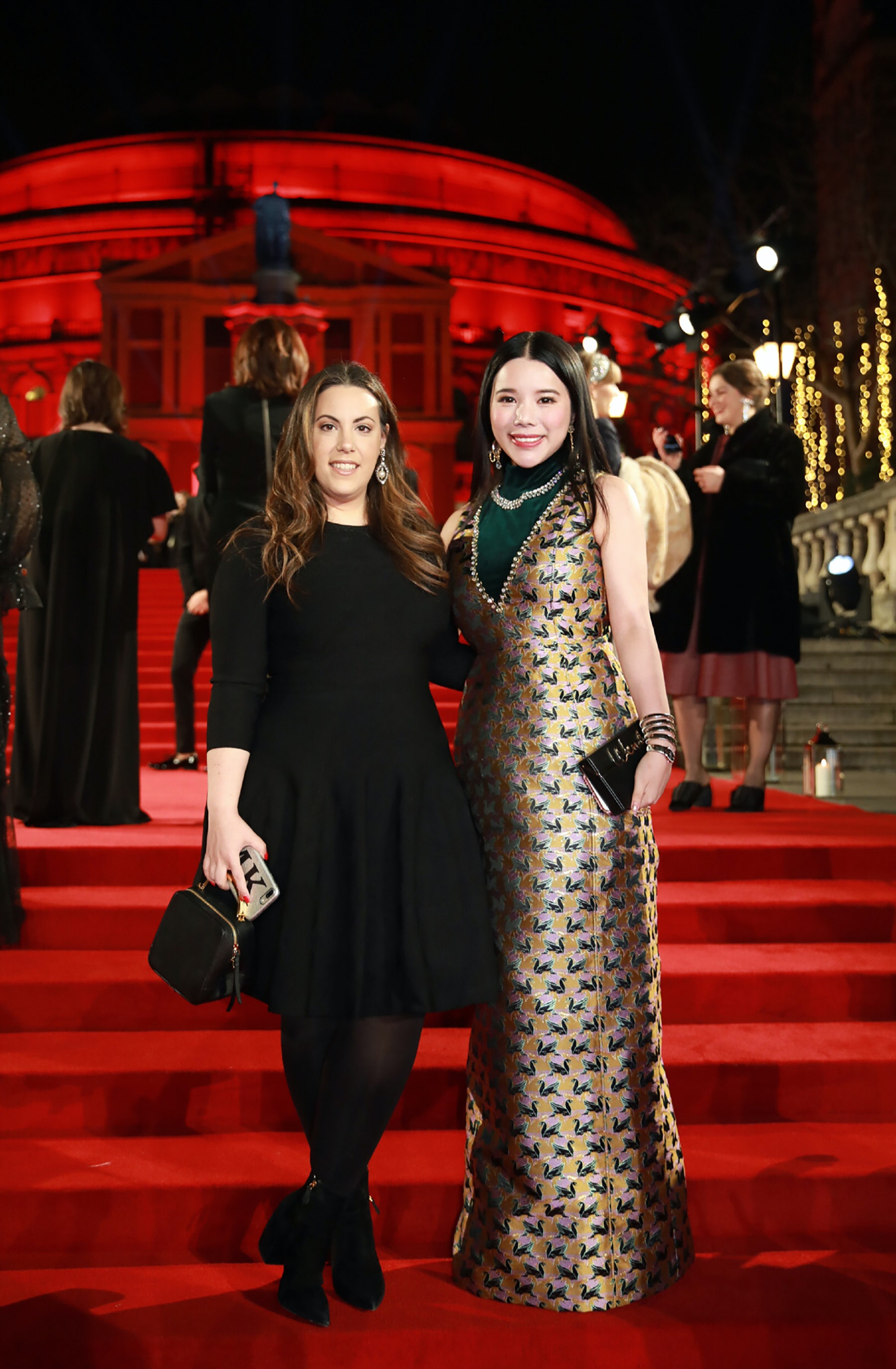 Mary Katrantzou and Wendy Yu | Source: Courtesy