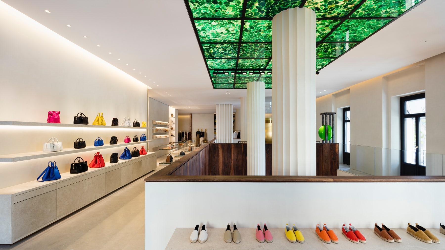 Casa de Loewe, the Loewe flagship in Madrid, Spain | Source: Courtesy
