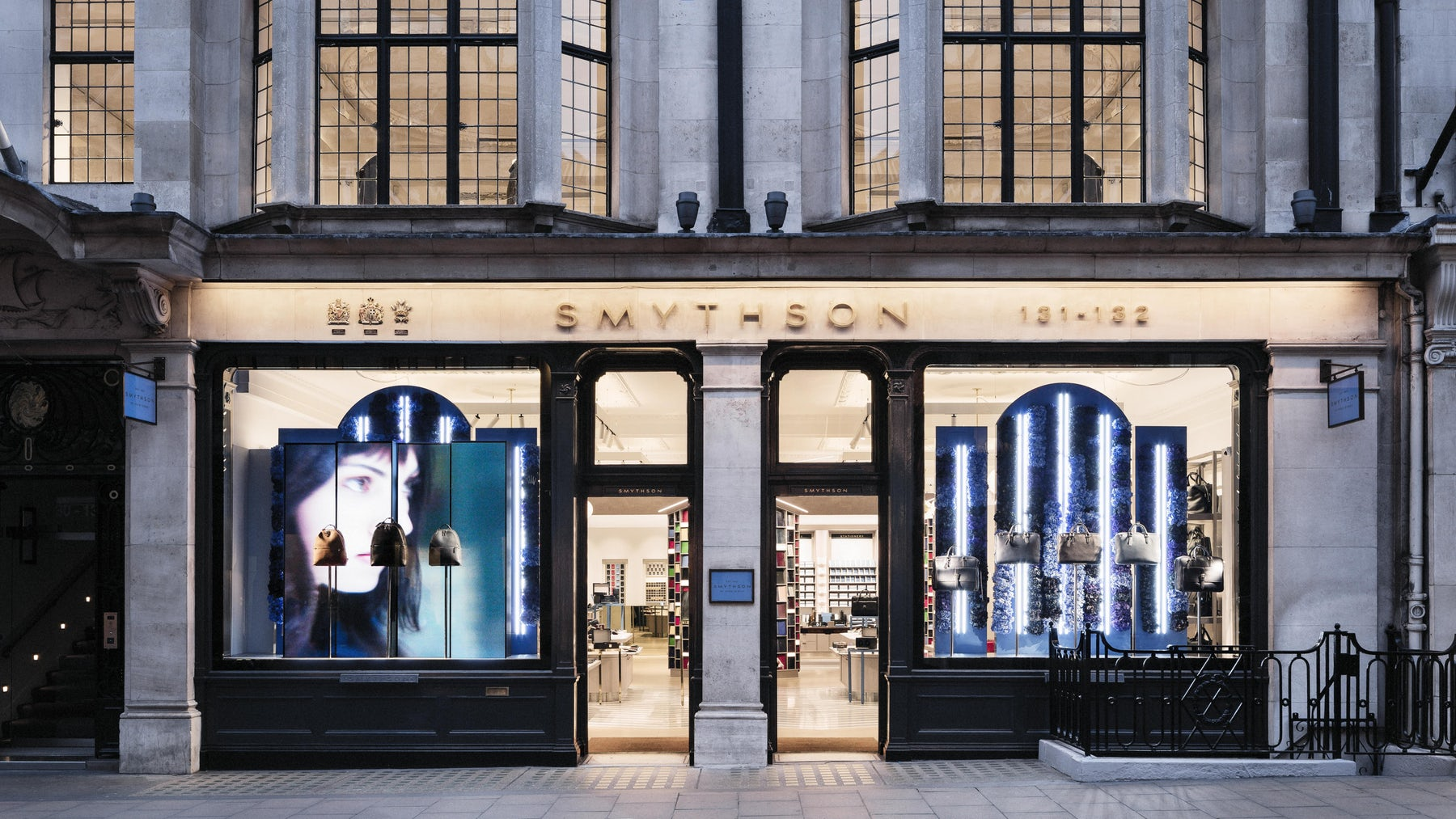 Smythson New Bond Street  store | Source: Shutterstock