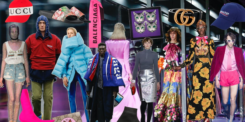 4476acd4 Gucci or Balenciaga: Which Was the Hottest Fashion Brand in 2017? |  Sponsored Feature | BoF