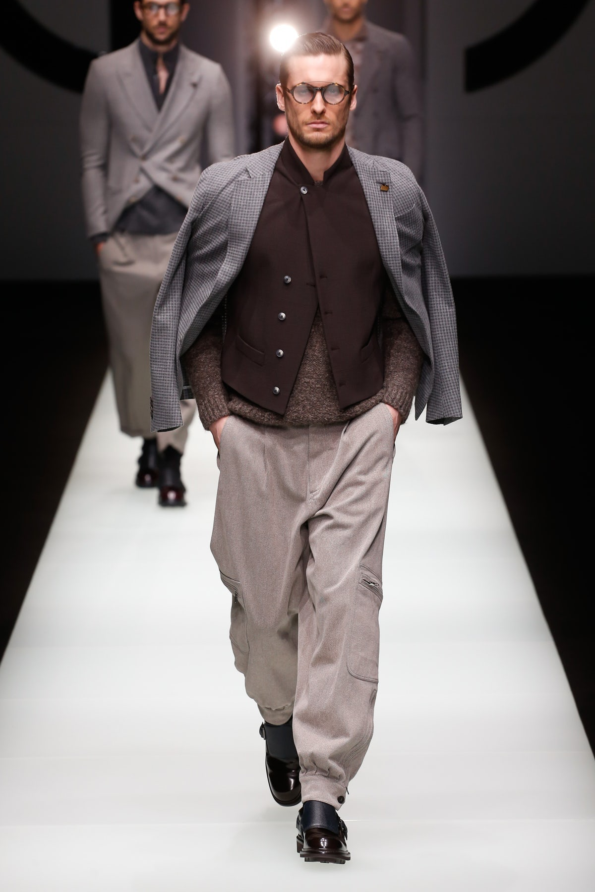 Male Glamour in Full Effect at Armani