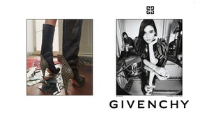 The Givenchy  Spring Summer 2018 campaign directed by Claire Waight Keller | Source: Steven Meisel