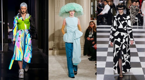 Can Couture Be Modern Fashion Show Review Multiple Bof