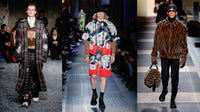 (L to R) Marni, Prada and Fendi Autumn/ Winter 2018 | Source: Indigital